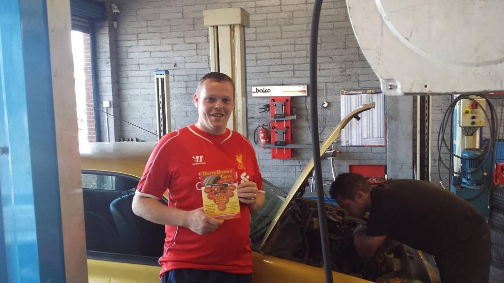Car Service Winner July 14